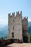 Altes Schloss von Arco/von Italien Lizenzfreie Stockfotos