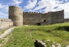 Altes Schloss von Ponferrada Spanien, das Bierzo Lizenzfreies Stockfoto
