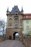 Altes Schlossquadrat Deutschland Stockbild