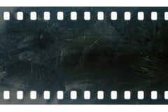 Altes Schmutz filmstrip stockfotos