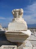 Altes Schnitzen - Laodicea, die Türkei Stockfotos