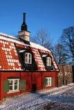 Altes schwedisches Haus. Lizenzfreie Stockfotos