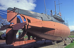 Altes schwedisches Unterwasser-Hajen Stockbilder