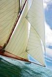 Altes Segelnboot Lizenzfreies Stockfoto