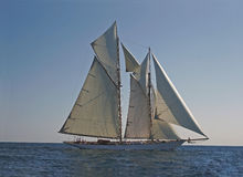 Altes Segelnboot Lizenzfreie Stockfotos