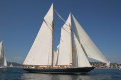 Altes Segelnboot Stockbilder