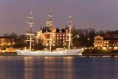 altes Segelschiff Stockfotos