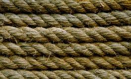 Altes Seil stockbilder