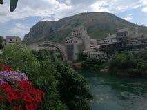 Altes Sity von Mostar Lizenzfreies Stockbild