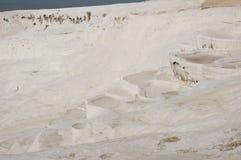 Altes Soda Springs von Pamukkale, die Türkei Stockfotos