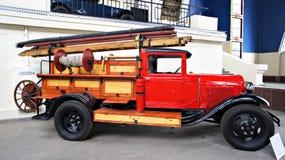 Altes sowjetisches Auto Stockbild