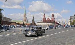 Altes sowjetisches Auto stockfotos