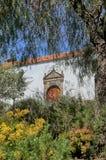 Altes Spanisch verwitterte Fenster bei Vilaflora, Teneriffa stockfotos