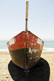 Altes spanisches Fischerboot Lizenzfreie Stockfotografie