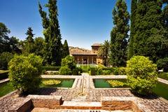 Altes spanisches Haus Lizenzfreies Stockfoto