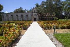 Altes spanisches Kloster Lizenzfreie Stockbilder