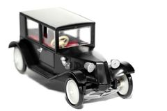 Altes Spielzeugauto Tatra 11 Limusina lizenzfreies stockbild