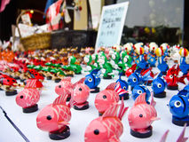 Altes Spielzeugsystem in Japan Lizenzfreies Stockfoto