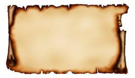 Altes Stück Pergament lizenzfreie abbildung