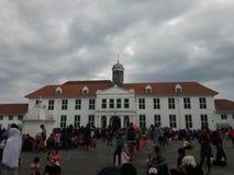 Altes ` Stadt--Kota Tua Jakarta altes Stadtjakartas `, offiziell bekannt als Kota Tua Lizenzfreie Stockfotos