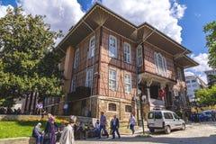 Altes Stadtbezirks-Gebäude Bursas Stockbild