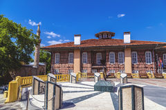 Altes Stadtbezirks-Gebäude Bursas Stockfotos
