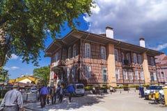 Altes Stadtbezirks-Gebäude Bursas Lizenzfreies Stockbild