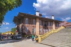 Altes Stadtbezirks-Gebäude Bursas Lizenzfreies Stockfoto