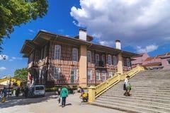 Altes Stadtbezirks-Gebäude Bursas Lizenzfreie Stockfotos