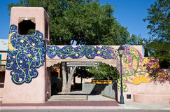 Altes Stadtgatter in Albuquerque Lizenzfreies Stockfoto