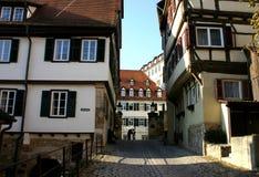 Altes StadtGespür Stockbilder