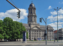 Altes Stadthaus in Berlin. Building named Altes Stadthaus in Berlin (Germany) at summer time royalty free stock image