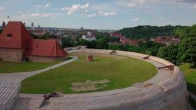 Altes Stadtvideo Vilnius stock video footage
