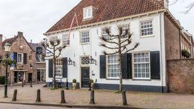 Altes Stadtzentrum von Amersfoort die Niederlande Stockfotografie
