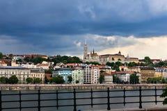 Altes Stadtzentrum von Budapest Lizenzfreie Stockbilder