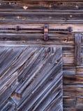 Altes Stallholz Stockbilder