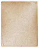 Altes stationäres antikes Papier Stockbild