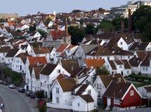 Altes Stavanger Lizenzfreie Stockfotos