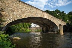 Altes Steinbrücke altena Deutschland Lizenzfreies Stockbild
