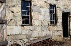 Altes Steingebäude Stockfotografie