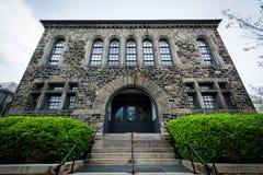 Altes Steingebäude in Bolton-Hügel, Baltimore, Maryland stockfotografie