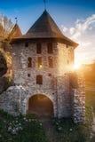 Altes Steinschloss Lizenzfreie Stockbilder