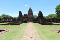 Altes Steinschloss in Thailand Stockbild