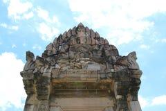 Altes Steinschloss in Thailand Stockfotos