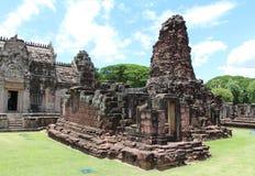 Altes Steinschloss in Thailand Lizenzfreie Stockfotografie