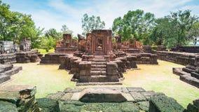 Altes Steinschloss, Thailand lizenzfreie stockfotografie
