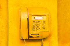 Altes Straßentelefon Lizenzfreies Stockfoto