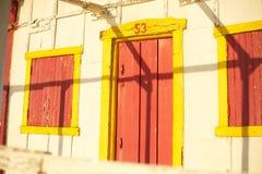 Altes Strandhaus lizenzfreie stockfotos