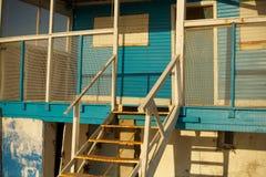 Altes Strandhaus stockfoto