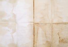 Altes strukturiertes Papier Stockbilder